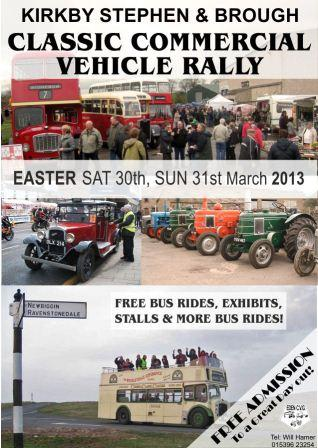 Classic Vehicle Rally - Easter 2013 - Edwin Jones - annual bus collection