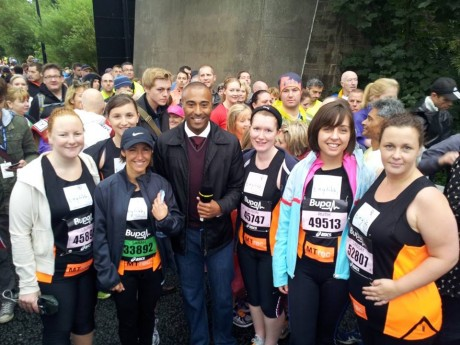 SCBU staff with colin jackson