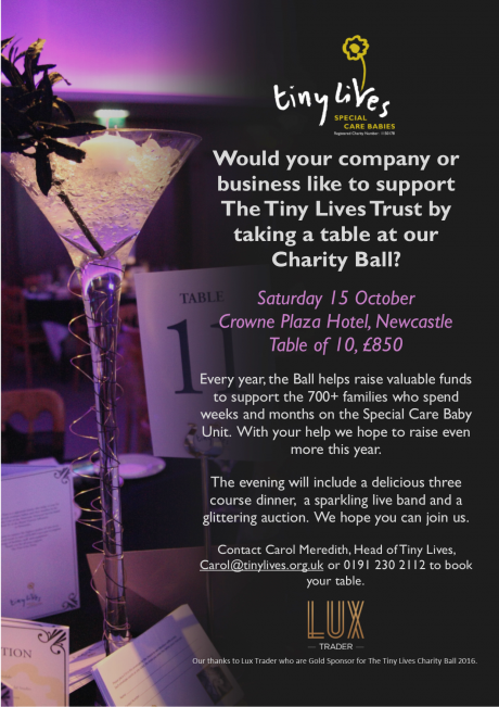 Tiny Lives Charity Ball