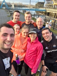 Andy and team Dec run 2016 2