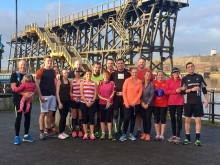Andy and team Dec run 2016