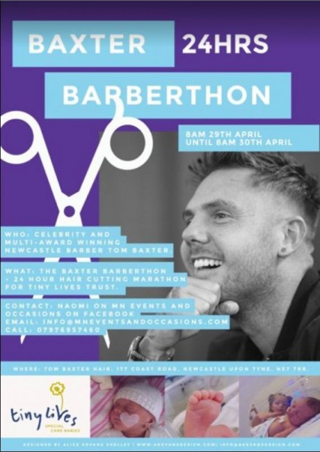 Baxter 24hrs Barberthon - April 2018