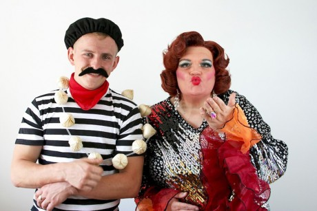 Miss Bunty and Igor promo shot