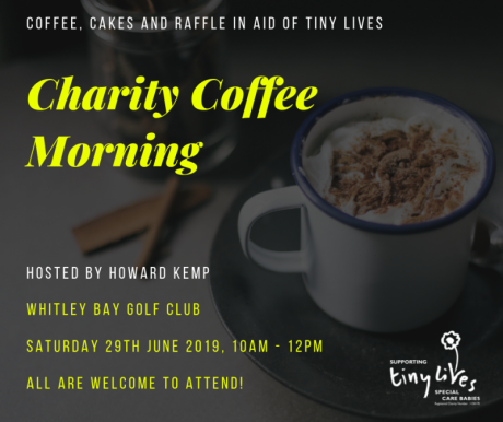 Charity Coffee Morning - Howard Kemp