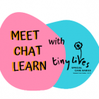 Meet, Chat, Learn Logo