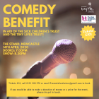 Comedy Benefit Poster (Calvin Lawson, 2020) INS