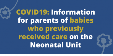 COVID19 - babies off the Unit