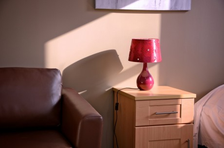 """""""The flat was fabulous! It felt a lot less sterile than Special Care and gave us a real sense of home."""" (Louise, who was the first guest in one of the refurbished flats!)"""