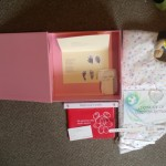 """""""We were going home that evening and a nurse gave us a memory box, with Ruby-Mae's teddy and the nest I nursed her in, name bands, Christening certificate, her record book, photos, which is full of memories thanks to Tiny Lives. It is so precious to us."""" (Lynne, whose daughter passed away at 4 weeks old)"""