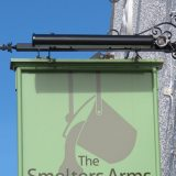 Smelters Arms Sign