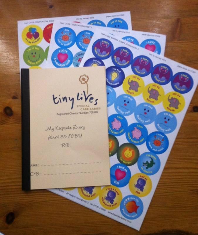 Keepsake diary