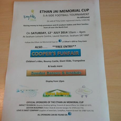 Ethan Jai Memorial Cup