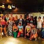 group photo fashion show 2014