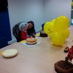 more cake with mum
