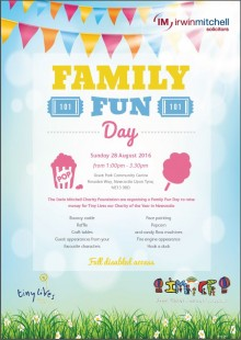 Family Fun Day August 2016