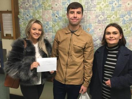 Money raised in loving memory of Theo, Dec 2017
