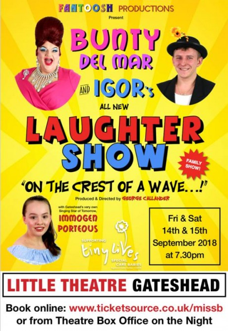 Miss Bunty show poster
