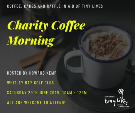 Charity Coffee Morning - Howard Kemp