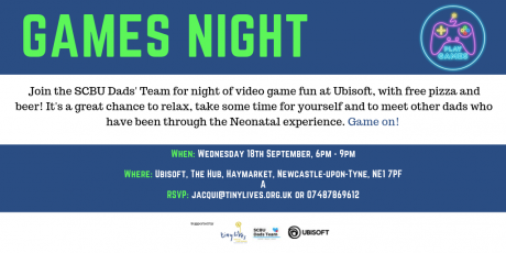 Dads' Team Video Game Night (Sept 2019) Twitter