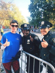 Mairi meets the NYPD