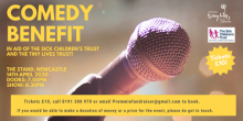 Comedy Benefit Poster (Calvin Lawson, 2020) TW